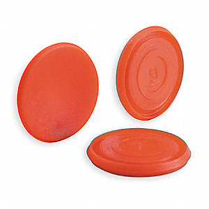 Push Button Cap,30mm,Red