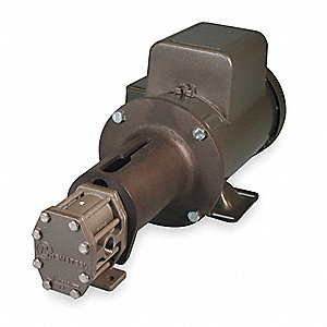 Rotary Gear Pump, 110 psi, 316 Stainless Steel, 3/4 HP, 1 Phase