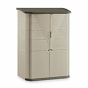 Outdoor Storage Shed,Large Vertical,H 77
