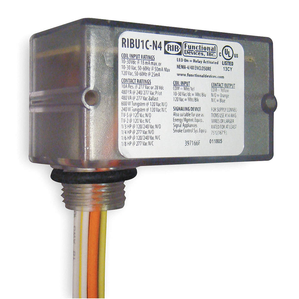 Functional Devices Inc Rib Prewired Relay 10 To 30vac Dc 120vac Circuit Use Zoom Out Reset Put Photo At Full Then Double Click