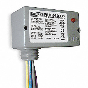ENCLOSED PRE WIRED RELAY,PILOT DUTY