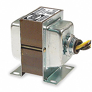 Class 2 Transformer, 40 VA Rating, 24VAC Input Voltage, 24VAC Output Voltage