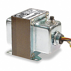 Class 2 Transformer, 75 VA Rating, 277VAC Input Voltage, 24VAC Output Voltage