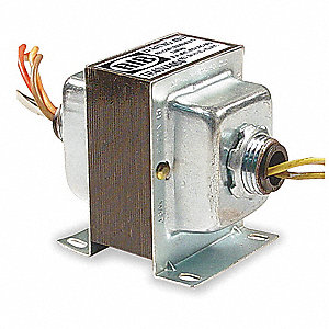 Class 2 Transformer, 40 VA Rating, 120/208/240/277VAC Input Voltage, 24VAC Output Voltage