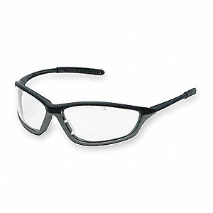 Shock® Anti-Fog, Scratch-Resistant Safety Glasses, Clear Lens Color