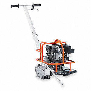 "6"" Walk Behind Concrete Saw, 4.5 HP Robin 4 Cycle Gasoline Engine"