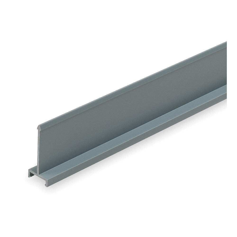 PANDUIT Gray Wiring Duct Divider Wall, Lead Free PVC, 6 ft. Length ...