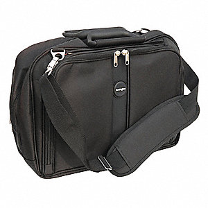 "1680 Denier Ballistic Nylon Laptop Bag Fits Laptop Up to 15-3/5"", Black"