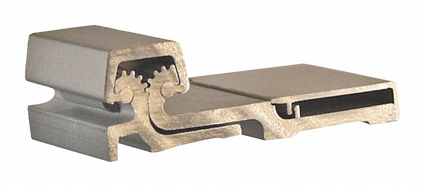 Load-rated Piano Hinges