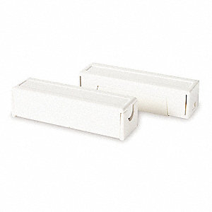 "9/16"" x 2"" x 1/2"" ABS Plastic Surface Mount Magnetic Contact"