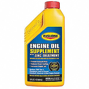 Engine Oil Supplement w/Zinc Treatment
