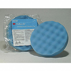 Polishing Pad With Waffle Face,8 In,Foam