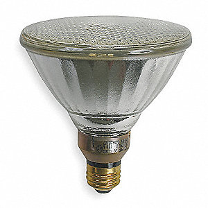 "5-7/16"" Clear PAR38 HID Lamp, 100 Watts, 6500 Lumens"