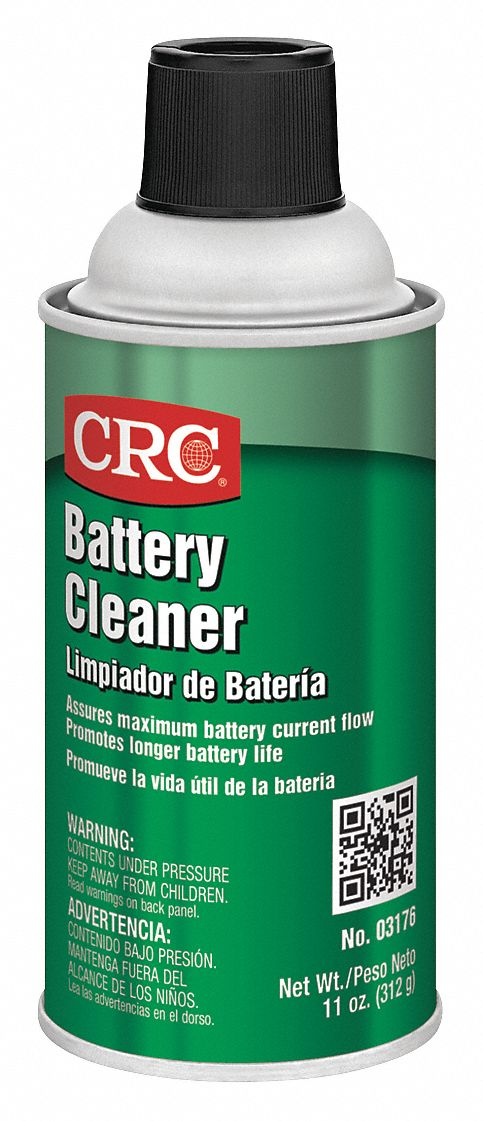 Battery Cleaner;Aerosol Can;12 oz;Non Flammable;Non Chlorinated