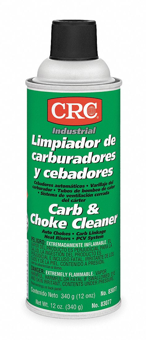 Carburetor Cleaner;Aerosol Can;12 oz;Flammable;Non Chlorinated