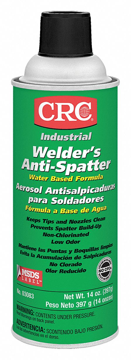 Anti-Spatter, 16 Oz., Net Wt. 14 oz