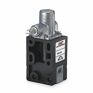 "Heavy Duty Limit Valve, 7.50 Max. CFM, 150 psi Max. Pressure, 1/8"" NPT"