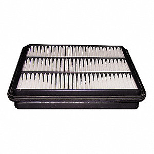 "Air Filter, Panel, 2-1/16"" Height, 12-1/4"" Length"