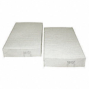 "Air Filter, Rectangular, 1-1/8"" Height, 8-27/32"" Length"