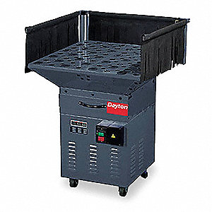"Downdraft Table, Table Size: 32"" x 32"", 120 Voltage, 9.0Ah Amps AC, 1 Phase"