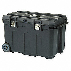 "Rolling Tool Box, Structural Foam, 22-3/16"" Overall Width x 37-1/2"" Overall Depth"