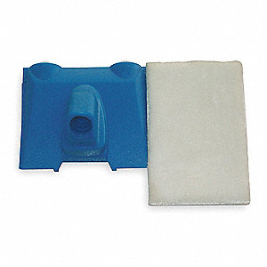 "4-3/4"" x 3-1/2"" Plastic Paint Edger, Blue&#x3b; For Use With All Paints And Stains"