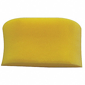 "7-3/4"" x 3-1/2"" Foam Sponge, Yellow, 1EA"