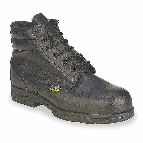 Zapato Industrial,Acero,,9,Negro