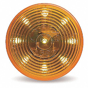 Clearance Marker Lamp,FMVSS P2,Round