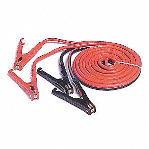 16 ft. Standard Jaws Booster Cables, Red/Black