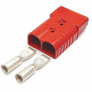 Battery Cable Connector, Red