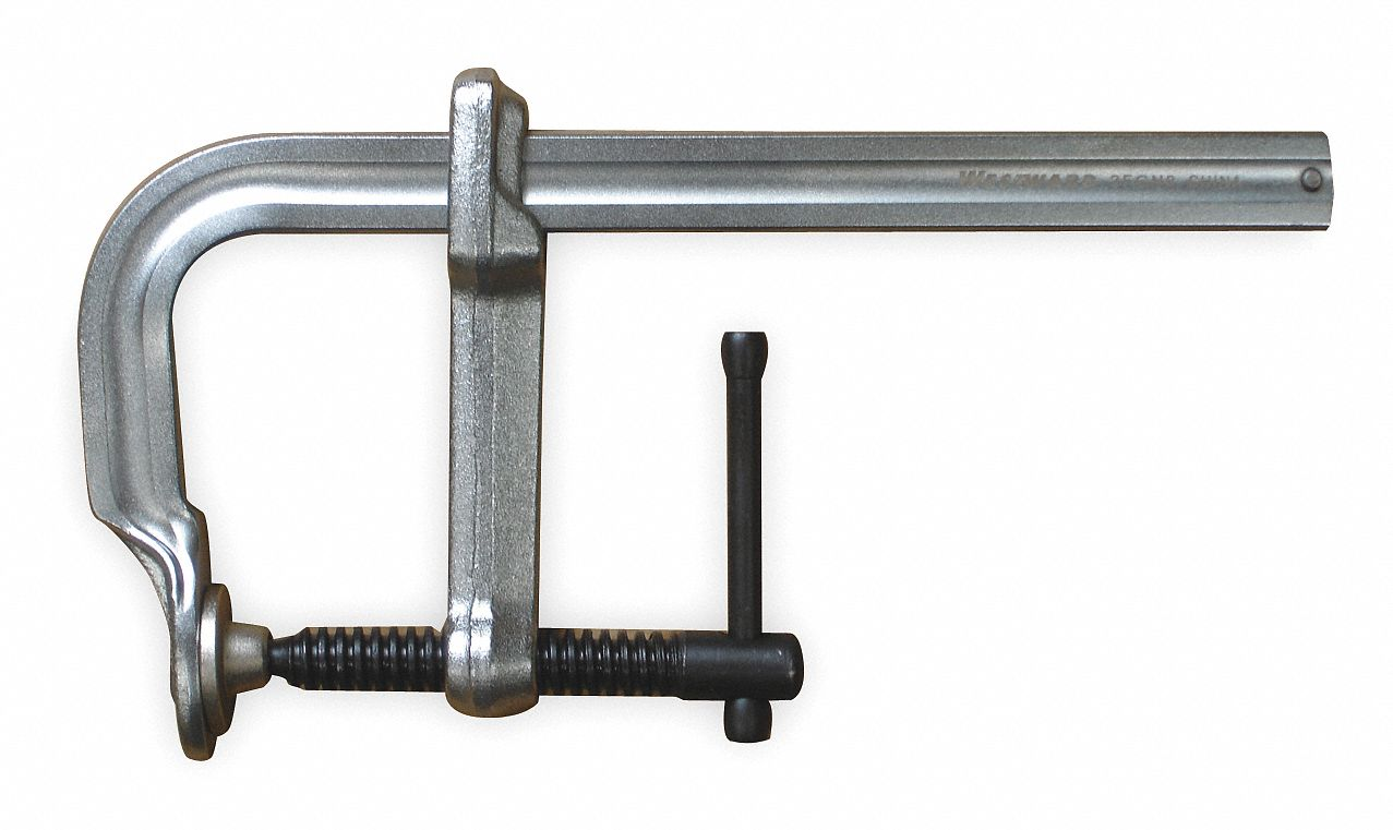 L Clamp,10 Max. Jaw Opening (In.),2,600 lb Nominal Clamping Pressure