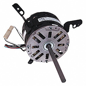 1/3 HP Direct Drive Blower Motor, Permanent Split Capacitor, 1075 Nameplate RPM, 115 Voltage
