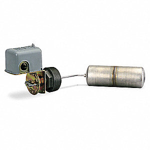 "Tank Liquid Level Switch, Open On Rise, Stainless Steel, 2-1/2"" MNPT"