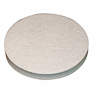 "Felt Disc, Plain Backing Type, 6"" Diameter"