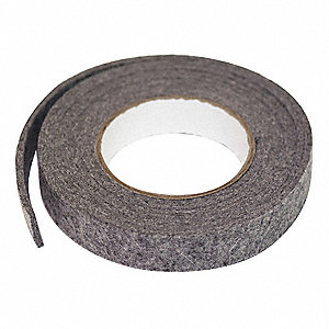 Felt Strip,F13,3/16 In T,1 x 60 In