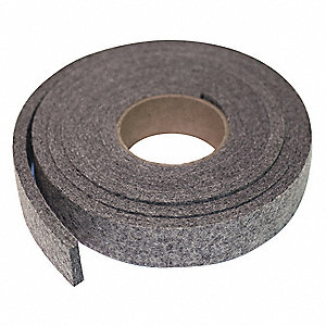 Felt Strip,F13,1/2 In T,2 x 60 In