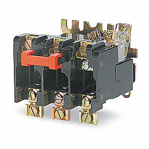 Thermal NEMA Overload Relay, Current Range: 91.0 to 135A, NEMA Size: 4