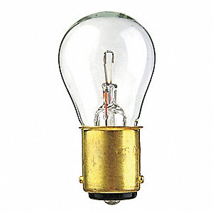 Trade Number 1594, 30 Watts Miniature Incandescent Bulb, S8, Double Contact Bayonet (BA15d)