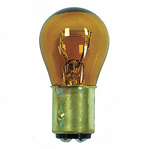 Trade Number 1157NA, 8.0 Watts Miniature Incandescent Bulb, S8, Double Contact Index (BA15d)
