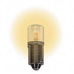 Trade Number LM1012MB-WW Miniature Bi-Polar LED Bulb, T3-1/4, Miniature Bayonet (BA9s), 12