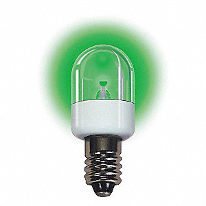 Trade Number LM2075CS-G, 0.7 Watts Miniature LED Bulb, T6, Candelabra Screw (E12), 75