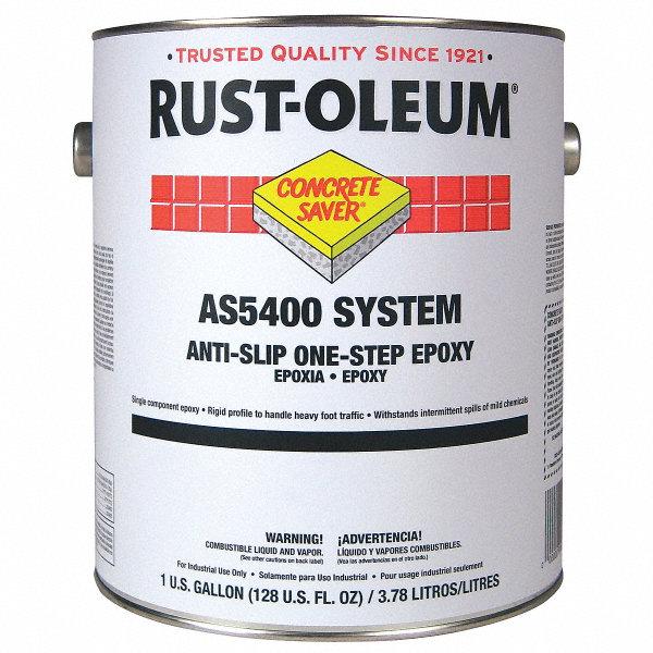 Rust Oleum Flat Epoxy Ester Anti Slip Floor Coating
