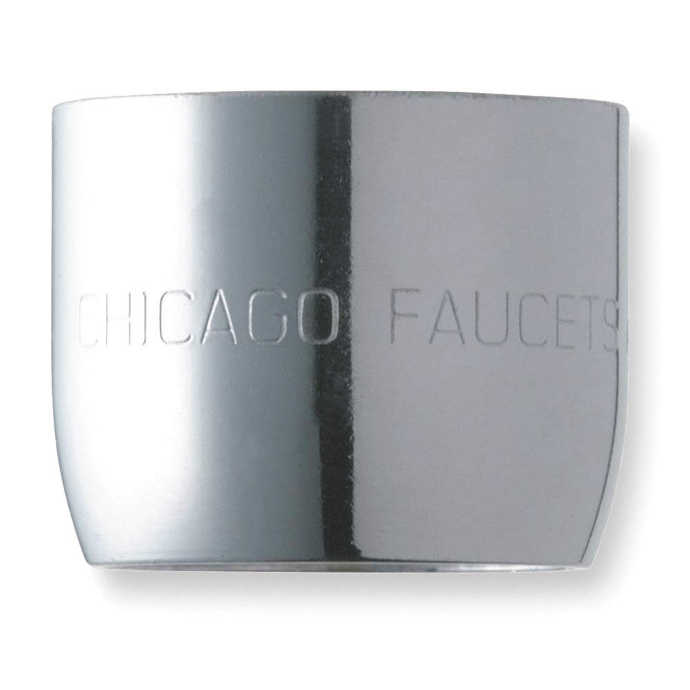 Zoom Out Reset  Put photo at full zoom   then double click CHICAGO FAUCETS Aerator Brass 2 2 GPM   2FPL2 E3JKABCP   Grainger. Faucet Aerator Thread Size. Home Design Ideas