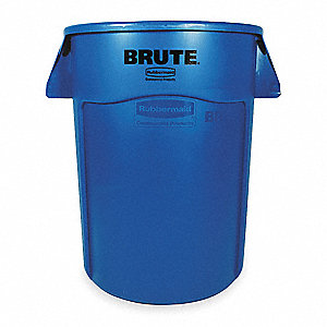 Utility Container,44 gal.,Bl
