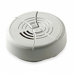 "4-1/4"" Smoke Alarm with 85dB @ 10 ft., Audio Audible Alert&#x3b; 9V Lithium"