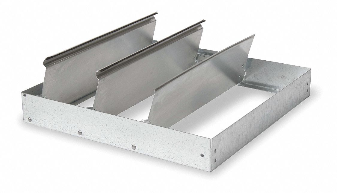Backdraft Roof Dampers