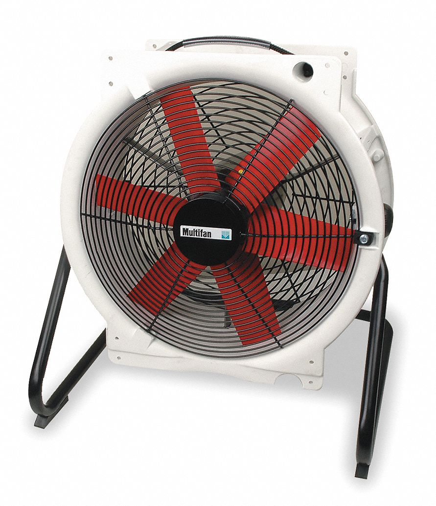 16 in Corrosion-Resistant Industrial Fan,  Mobile,  Floor,  120V AC
