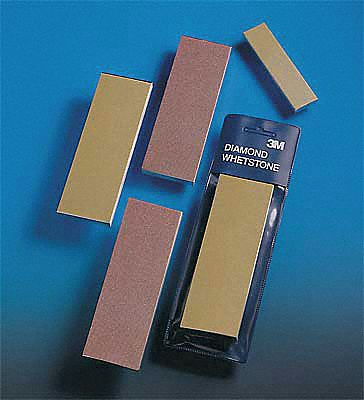 Single Grit Sharpening Stone,  Diamond,  6 in Length,  2 in Width,  PK 5