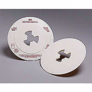"7"" Diameter Disc Pad Smooth Face Plate"